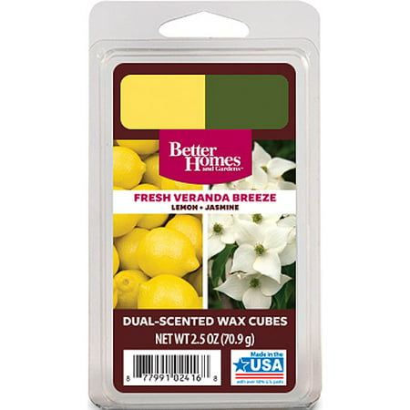 Better homes and gardens duo wax cubes fresh veranda - Better homes and gardens scented wax cubes ...