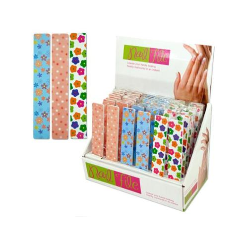 Wide nail file display - Case of 48