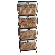 Pangaea Home and Garden Seagrass Basket Storage Pangaea 4 Drawer Storage Chest