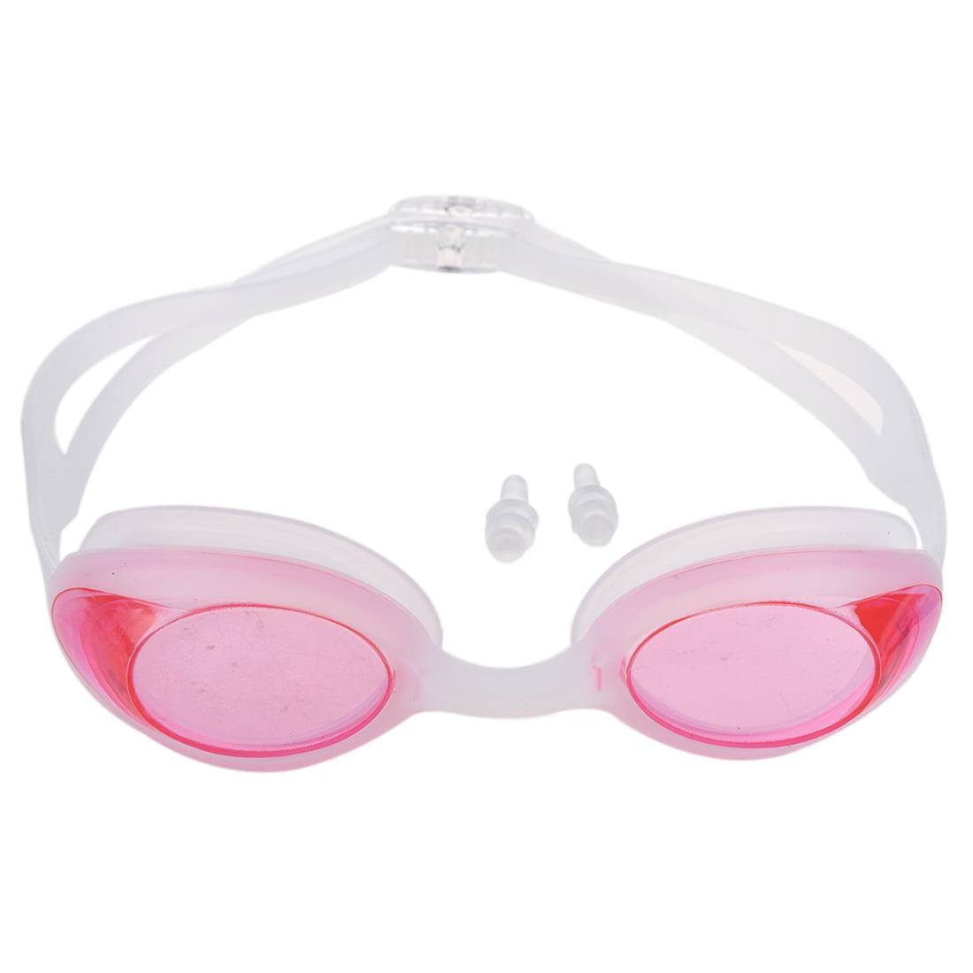 THZY Kids Adult Non Anti-Fog Swim Swimming Pool Goggles Eye Silicone Glasses Ear plug by THZY