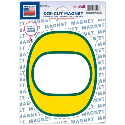 American Logo Products Oregon Ducks Logo Magnet