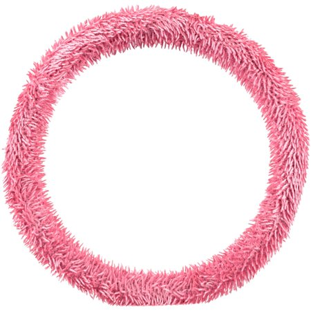 Bell® Shiny Shaggy™ Pink Steering Wheel Cover Carded Pack