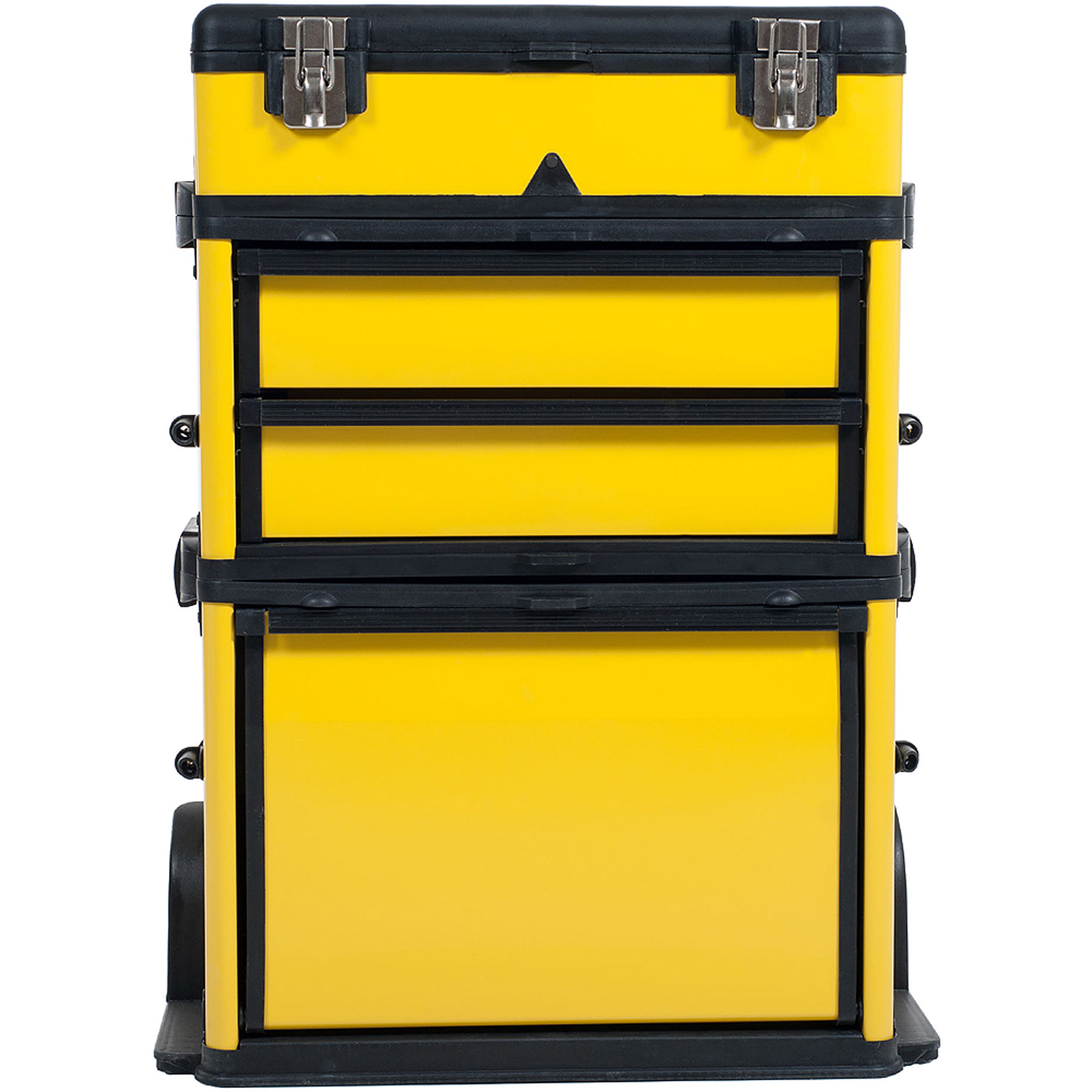 Stalwart Rolling Stacking Portable Metal Trolley Toolbox Chest   Walmart.com