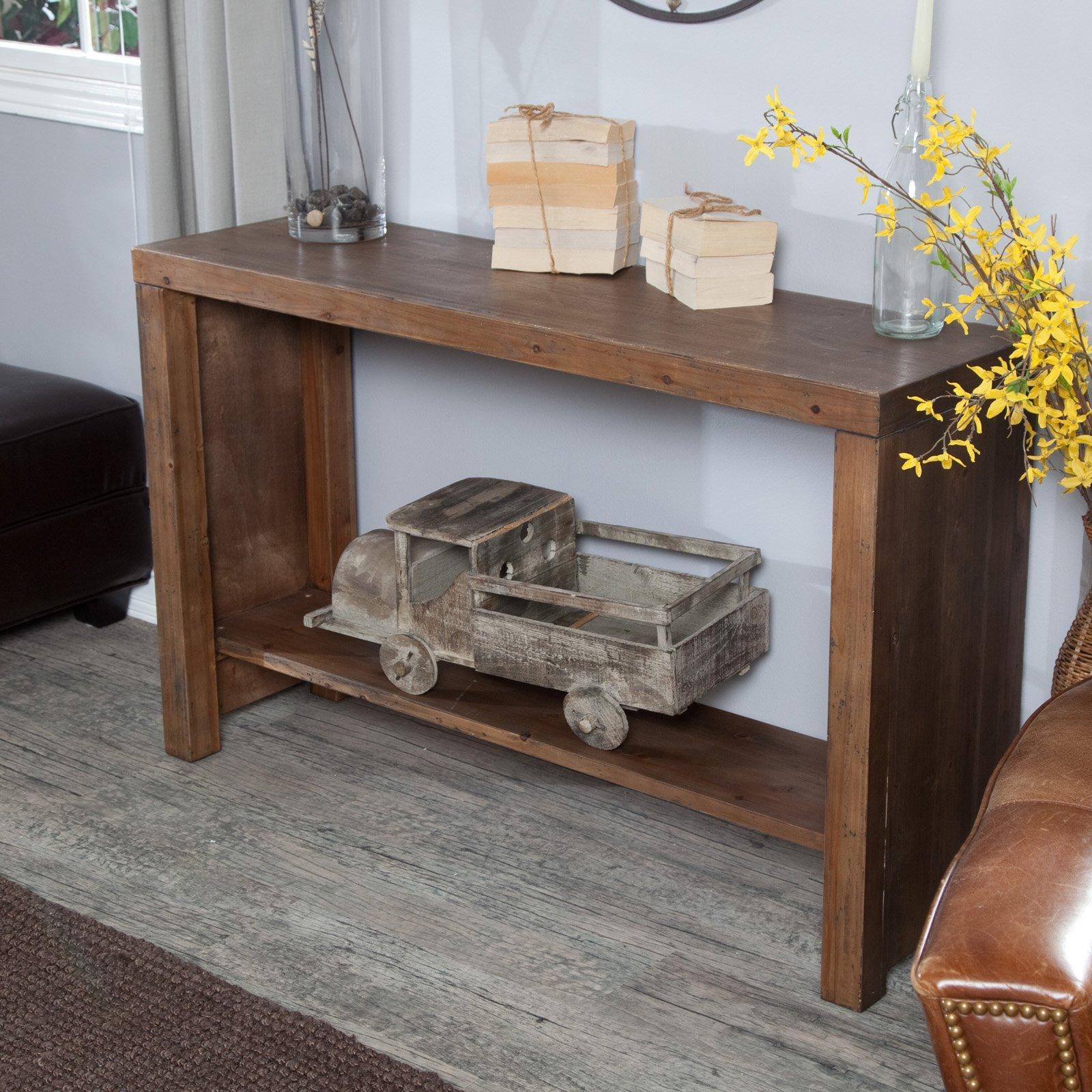 Belham Living Brinfield Rustic Console Table Walmartcom