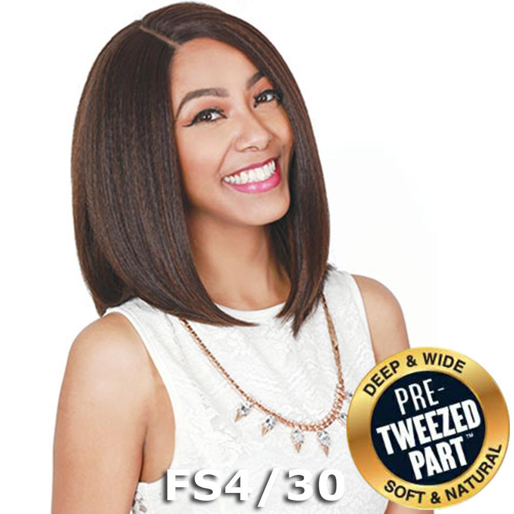 "Sis Royal Pre-Tweezed Part Swiss Lace Front Wig - CHIA 14"" (2 Dark Brown)"