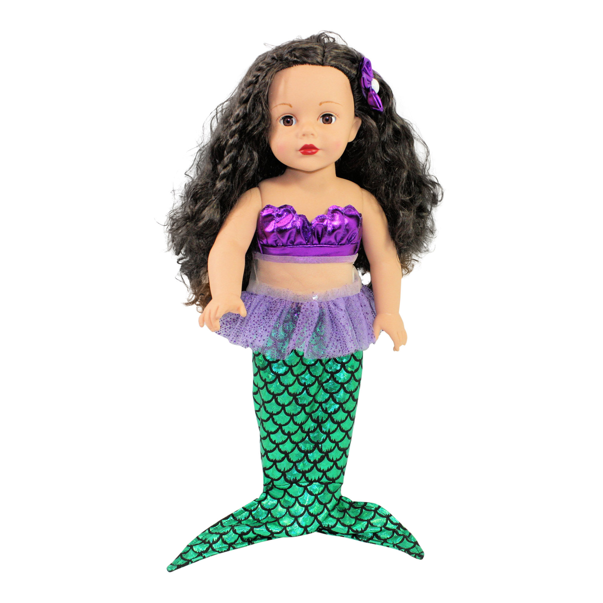 Ari and Friends Mermaid Costume Fits 18 inch Doll Clothes