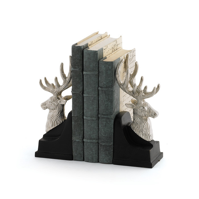 """Eclipse Home Collection Pair Of Montana Bookends 4"""" L x 3.25"""" W x 8.5"""" H by"""