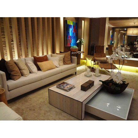 LAMINATED POSTER Luggage Living Room Sofa Casa Cor 2015 Color House Poster Print 24 x 36 ()