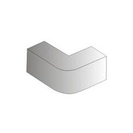 Linkit Security Elbow 90 Degrees External for PVC Cables Raceways #2 White 20x10mm - image 1 of 1