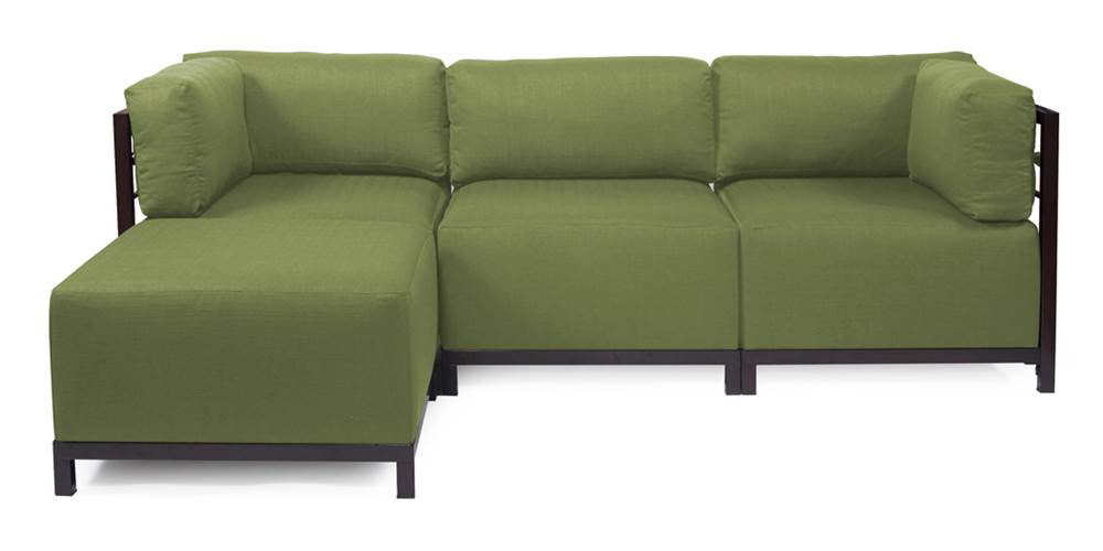 4-Pc Sectional in Moss by Howard Elliott Collection