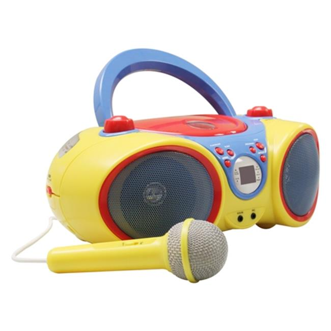 HamiltonBuhl Kids-CD30 Kids Audio CD Player Karaoke Machine with Microphone