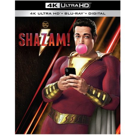 Shazam! (4K Ultra HD + Blu-ray + Digital) (Harry Potter Collection 8pk 4k Ultra Hd Digital)