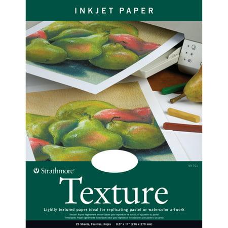 Strathmore Texture Artist Inkjet Paper, 8-1/2in x 11in
