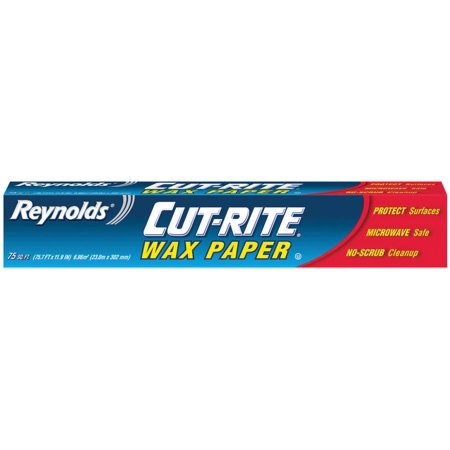 (3 Pack) Reynolds Cut-Rite Wax Paper, 75 ft Roll
