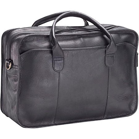Triple Gusset Briefcase (Clava Double Gusset Leather Legal Briefcase )