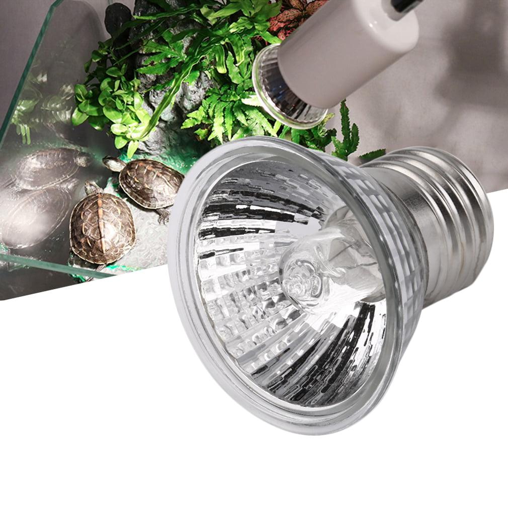 UVB 25W/50W/75W Compact Bulb Full Spectrum Terrarium Lamp Ideal Spectrum For Turtles Reptiles Amphibians