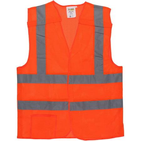 Cordova Class II 5-Point Orange Breakaway Vest with 2