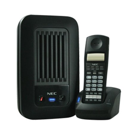 NEC 730095 Cordless DECT Telephone (Black) by