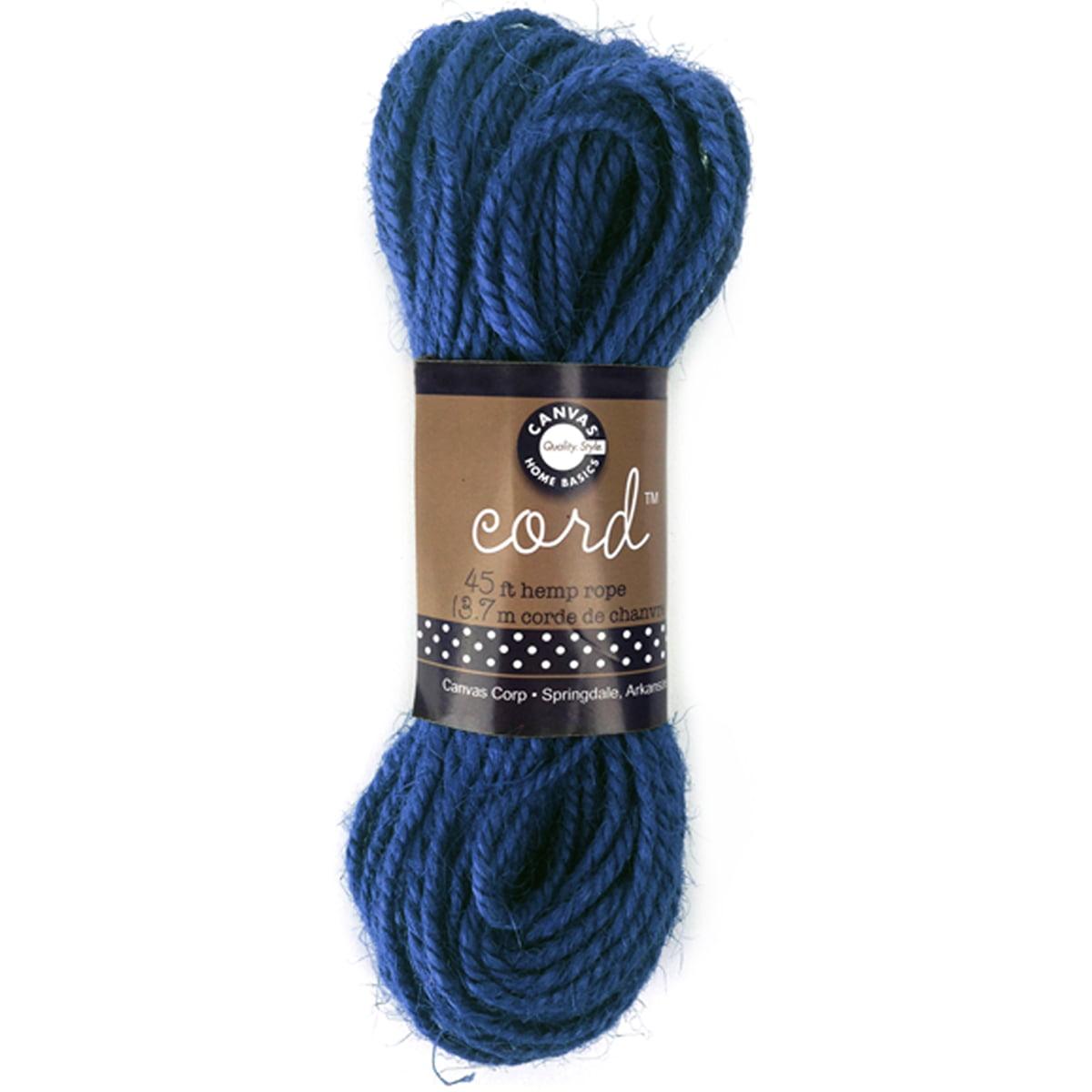Hemp Rope 45'-Dark Blue