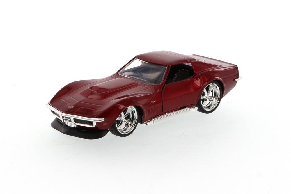 1969 Chevy Corvette Stingray ZL-1, Red Jada Toys 96925 1 32 scale Diecast Model Toy Car... by Jada
