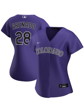 Nolan Arenado Colorado Rockies Nike Women's Alternate 2020 Replica Player Jersey - Purple