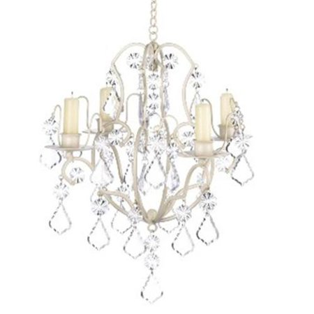 Majestic Crystal Candle - Zingz & Thingz 57070440 Crystalline Candle Chandelier