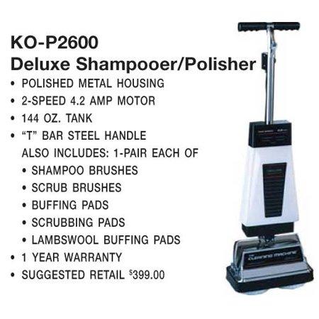 Koblenz 00 2079 2 P 2600a Hard Floor Carpet Cleaner