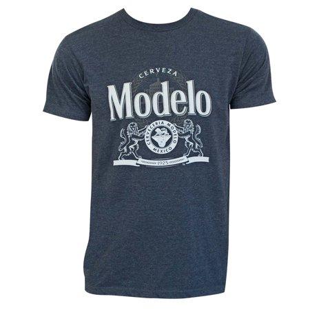 Modelo Crest Logo Blue Tee (Modelo Now)