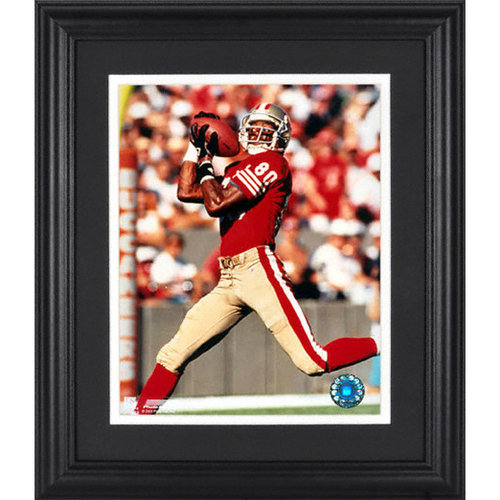NFL - Jerry Rice San Francisco 49ers Framed Unsigned 8x10 Photograph