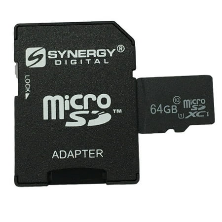 Huawei Ascend G730 Cell Phone Memory Card 64GB microSDXC Class 10 Extreme  Memory Card with SD Adapter