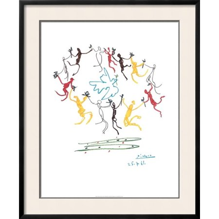 The Dance of Youth Framed Art Print Wall Art By Pablo Picasso ...