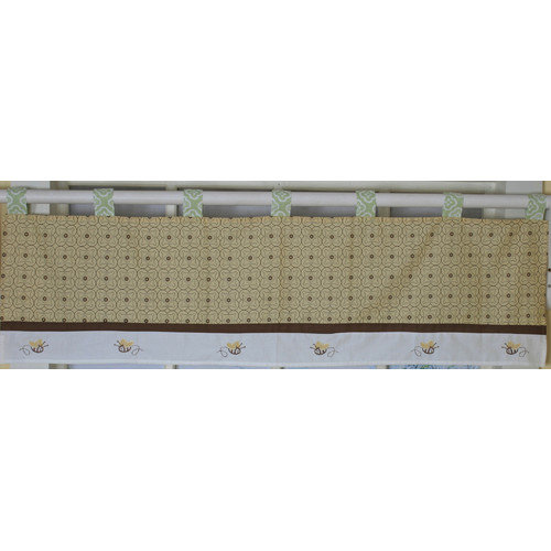 Bumble Bee Valance Nursery Window Treatment by Geenny