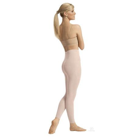 Intimates Adult Non-Run Footless Tights, Theatrical Pink - 2XL - 118 Halloween Run