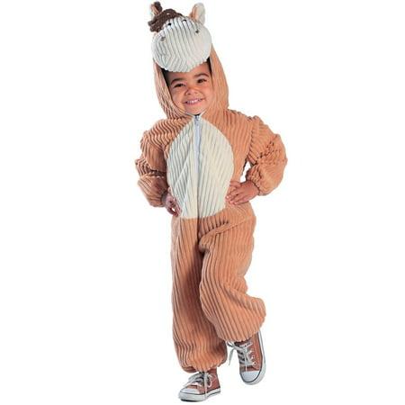 Halloween Toddler Corduroy Horse Costume
