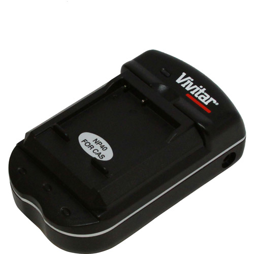 Vivitar Universal Battery Charger For Casio Batteries