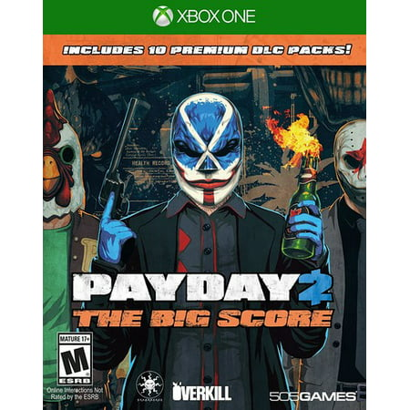 Payday 2: The Big Score, 505 Games, Xbox One, (Payday 2 Best Guns)