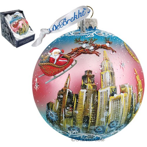 G Debrekht Up Up and Away Ball Ornament