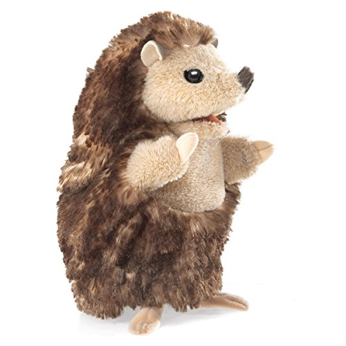 printable hedgehog puppets folkmanis baby hedgehog puppet plush 2770