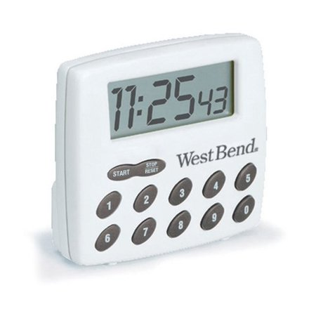 West Bend Timer - West Bend Digital Timer White