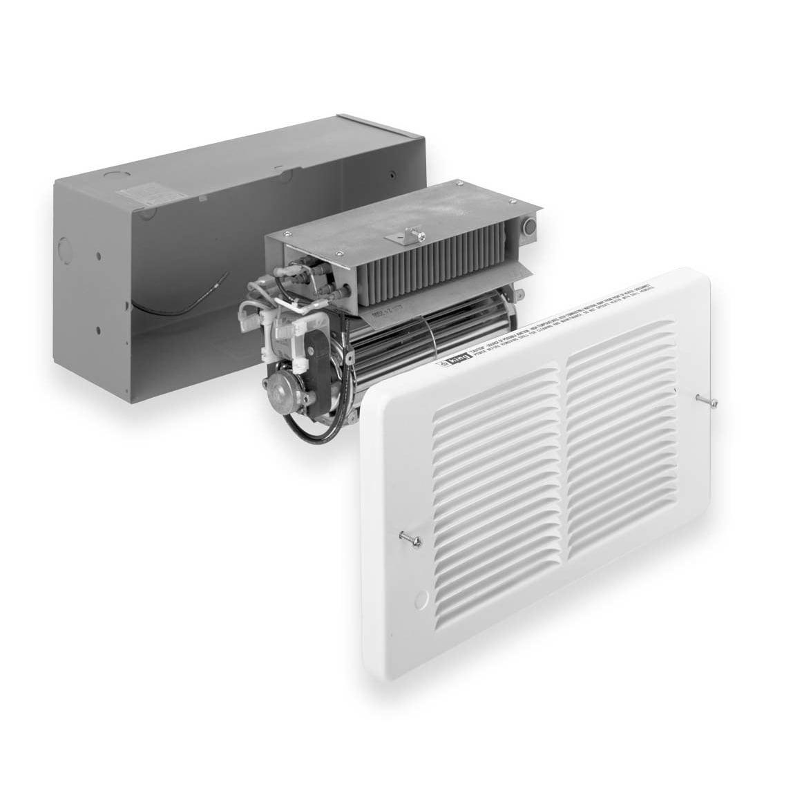 King Electrical Paw2422 2250 Watt 7680 Btu Pic A Compact Electric Furnace Wiring Diagram Wall Heater