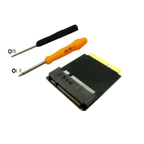 M.2(NGFF) SSD 8+18 Pin Adapter as SSD of 2012 MACBOOK Air