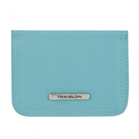 Travelon Tailored BiFold Card Case - Aquamarine Card