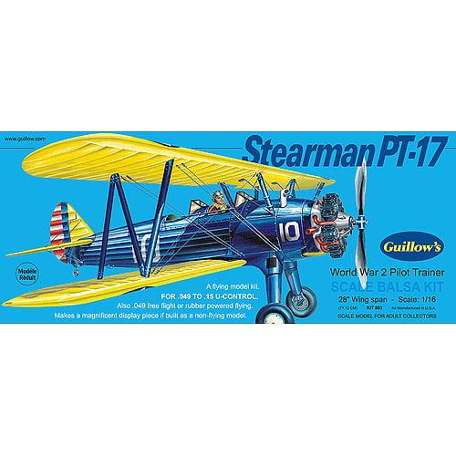 Guillow's Stearman PT-17 Model Kit