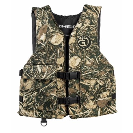 Sport Life Vest with Pockets, Youth, Camo
