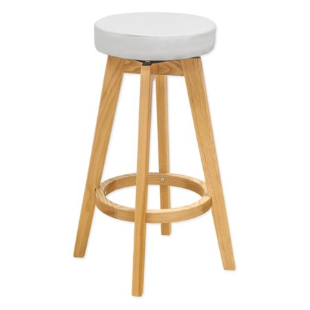 Strange Rex Natural Wood Modern Counter Stool White Uwap Interior Chair Design Uwaporg
