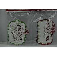 Holiday Time 8 Embellished Bake Tags