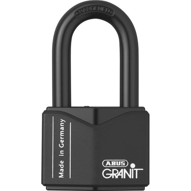 Image of ABUS 37 by 55HB50 B KD 2 in. Granit Padlock with Long Shackle