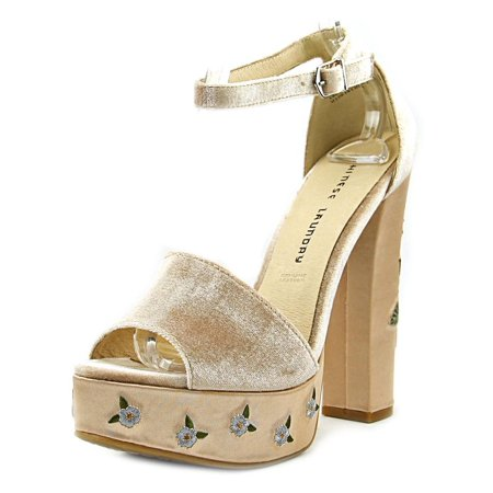 b9b3be5a98 Chinese Laundry - Chinese Laundry Ariana Women Open Toe Synthetic Nude  Platform Heel - Walmart.com