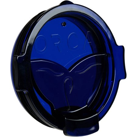 Whale Tail Blue Flip Top Chaser Lid