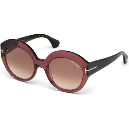 Tom Ford FT0533 Rachel Round Woman (Ladies Tom Ford Sunglasses)